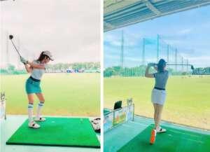Anh Con Gai Jennifer Pham Choi Golf Thuong Luu O Ha Noi Phat Hien Diem Dac Biet O Co Be 3