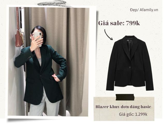 Blazer Zara sale đồng giá 799k: Áo vải tweed đẹp mê, có mẫu chuẩn style sang chảnh của chị đẹp Son Ye Jin - Ảnh 4.