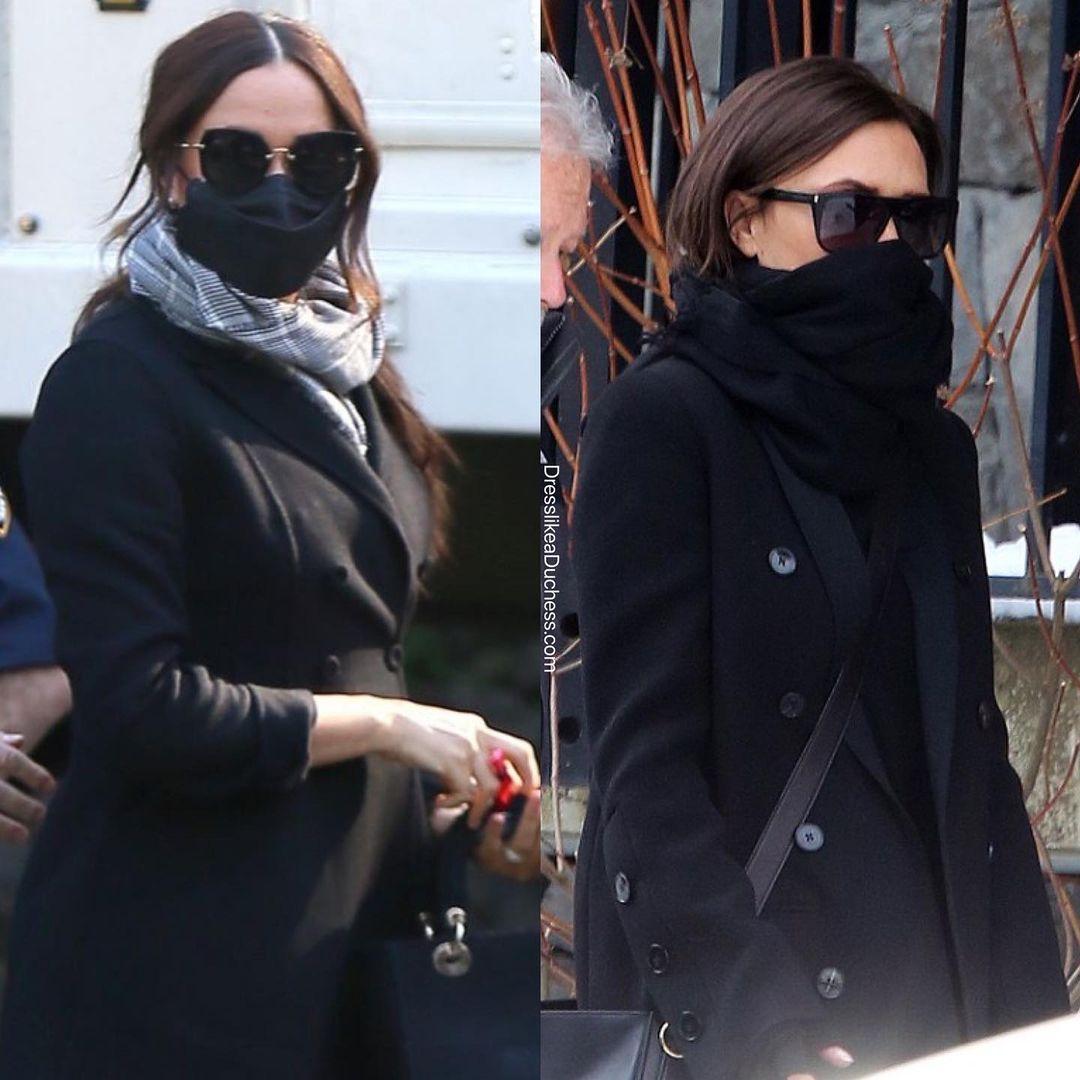 """Meghan Markle Victoria Beckham Học tập style của Victoria Beckham nhưng Meghan Markle vẫn lộ đẳng cấp """"kém sang"""" toàn tập - Ảnh 4."""