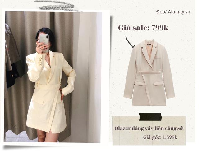 Blazer Zara sale đồng giá 799k: Áo vải tweed đẹp mê, có mẫu chuẩn style sang chảnh của chị đẹp Son Ye Jin - Ảnh 6.