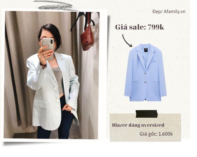 Blazer Zara sale đồng giá 799k: Áo vải tweed đẹp mê, có mẫu chuẩn style sang chảnh của chị đẹp Son Ye Jin - Ảnh 8.