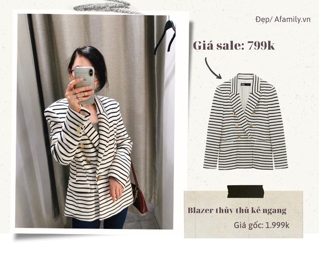 Blazer Zara sale đồng giá 799k: Áo vải tweed đẹp mê, có mẫu chuẩn style sang chảnh của chị đẹp Son Ye Jin - Ảnh 5.