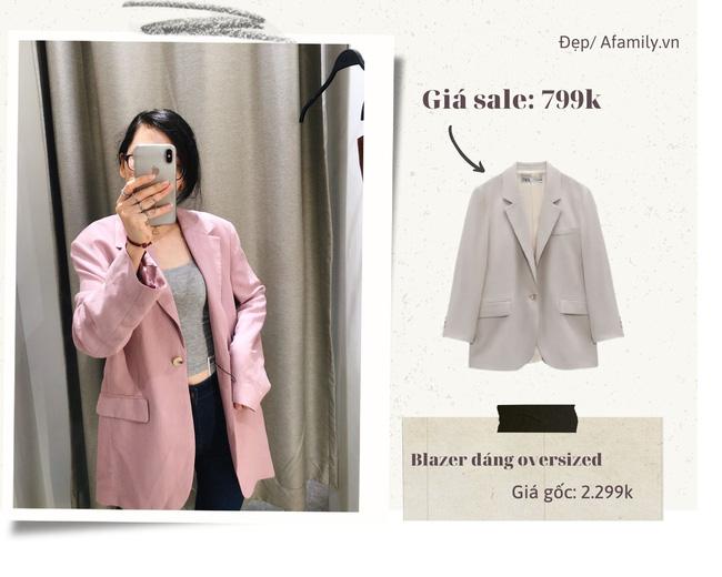 Blazer Zara sale đồng giá 799k: Áo vải tweed đẹp mê, có mẫu chuẩn style sang chảnh của chị đẹp Son Ye Jin - Ảnh 7.